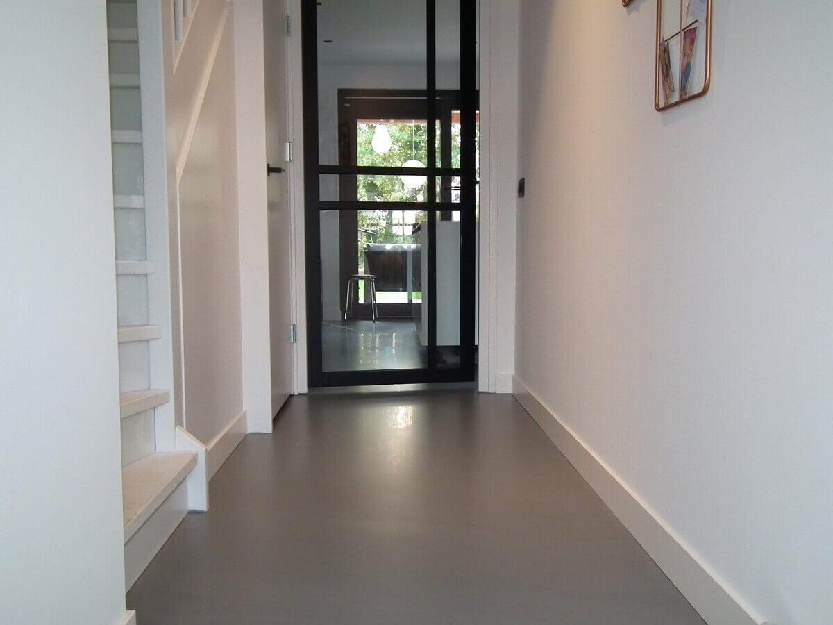 Gietvloer verbouwing Indigo Floor